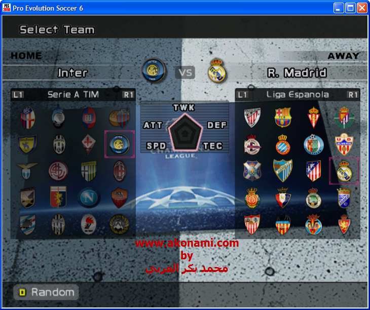 Mods Pro Evolution Soccer 6 indispensables